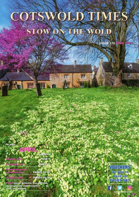 Front page of Stow Times - April 2018